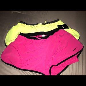 Nike training 2 in 1 shorts